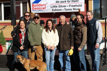 Builders' General & Eco B Make the Two River Times For Homeless Veterans Event