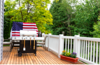 camouflage your deck