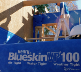 Henry Blue Skin air tight water tight house wraps