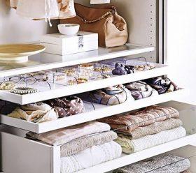 Lifespan closet organization