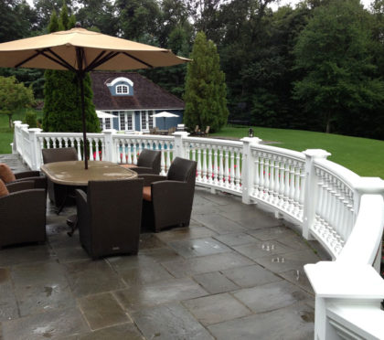 Intex exterior railing for patio