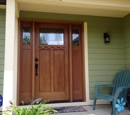 Therma-Thru wood doors