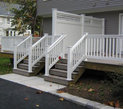 Phoenix outdoor railing