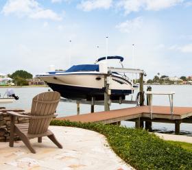 Azek boat deck