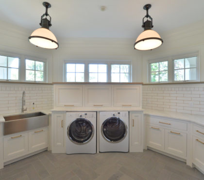 Garden State Moulding & Trimboard laundry room