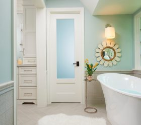 TRUSTILE Custom Bathroom Doors