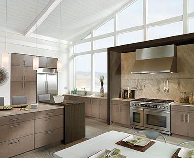 Sleek & Structured Kitchen Cabinetry