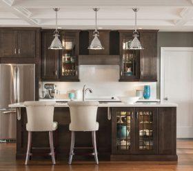 Korbett Maple Flagstone Kitchen Cabinets