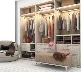 Lifespan closets