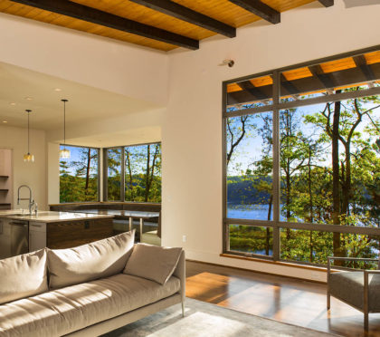 Marvin living room windows