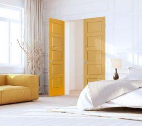 Masonite yellow doors
