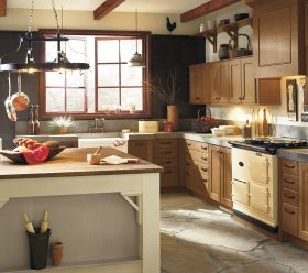 Rustic Berkley Quartersawn Berkeley Kitchen Cabinets by Kitchen Craft