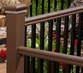 Timbertech railing detail