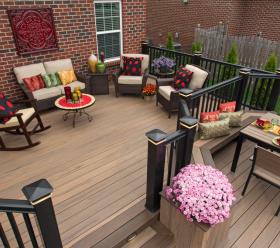 Timbertech deck design layout