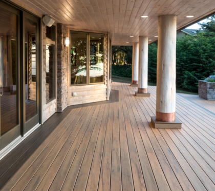 Timbertech wood deck designs