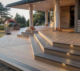 Timbertech deck aesthetic