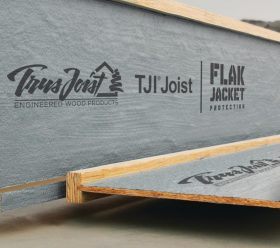 Trus high performance floor Joists close up