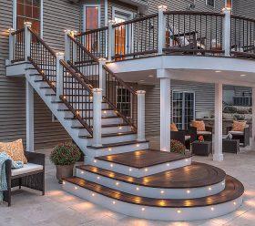 TREX decking & stairs