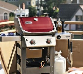 Weber Grill red style