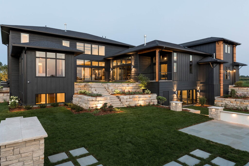 """"""" Mountain Retreat Inspired Home in Afton, Minnesota Using a Combination of Andersen Windows"""""""